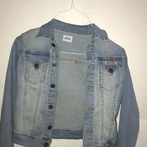 HUDSON brand jean jacket